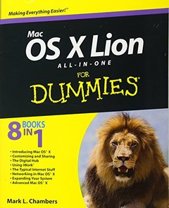 Mac OS X Lion All-in-One For Dummies (Paperback)-cover