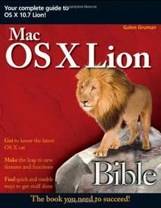 Mac OS X Lion Bible (Paperback)-cover