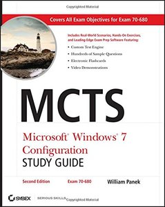 MCTS Microsoft Windows 7 Configuration Study Guide, Study Guide: Exam 70-680, 2/e (Paperback)-cover