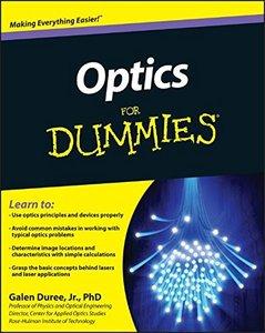 Optics For Dummies (Paperback)-cover
