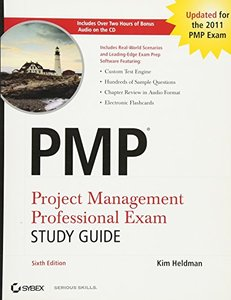 PMP Project Management Professional Exam Study Guide, 6/e (Paperback)-cover