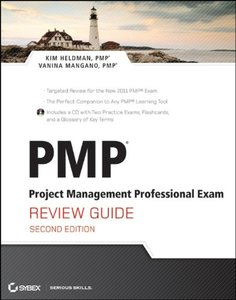 PMP: Project Management Professional Exam Review Guide, 2/e (Paperback)-cover