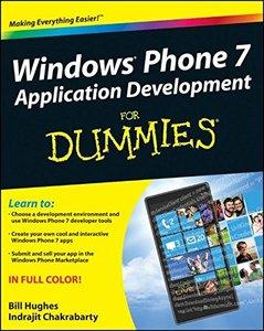 Windows Phone 7 Application Development For Dummies (Paperback)-cover