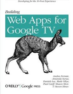Building Web Apps for Google TV (Paperback)-cover