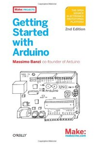 Getting Started with Arduino, 2/e (Paperback)-cover