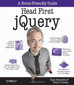 Head First jQuery (Paperback)-cover