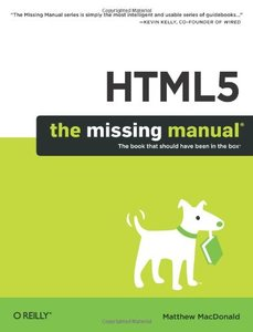 HTML5: The Missing Manual (Paperback)-cover