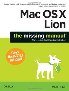 Mac OS X Lion: The Missing Manual (Paperback)-cover