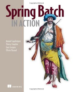 Spring Batch in Action (Paperback)-cover