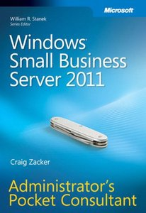 Windows Small Business Server 2011 Administrator's Pocket Consultant (Paperback)-cover
