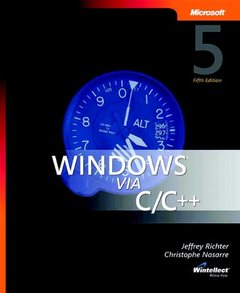 Windows via C/C++, 5/e (Paperback)-cover