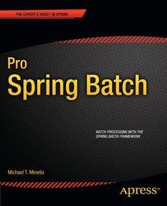 Pro Spring Batch (paperback)