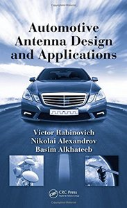 Automotive Antenna Design and Applications (Hardcover)-cover