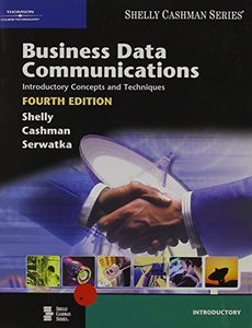 Business Data Communications Introductory Concepts And Techniques, 4/e (IE-Paperback)-cover