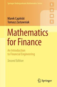 Mathematics for Finance: An Introduction to Financial Engineering, 2/e (Paperback)-cover