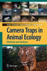 Camera Traps in Animal Ecology: Methods and Analyses (Hardcover)-cover
