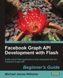 Facebook Graph API Development with Flash (Paperback)-cover