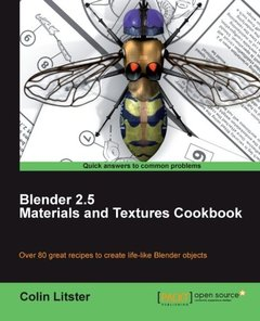 Blender 2.5 Materials and Textures Cookbook-cover