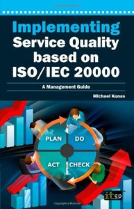 Implementing Service Quality based on ISO/IEC 20000 (Paperback)-cover