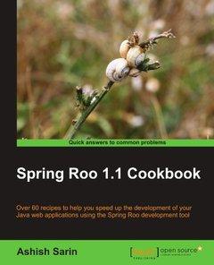 Spring Roo 1.1 Cookbook (Paperback)-cover