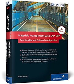 Materials Management with SAP ERP: Functionality and Technical Configuration, 3/e (Hardcover)-cover