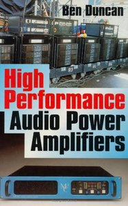 High Performance Audio Power Amplifiers (Hardcover)-cover
