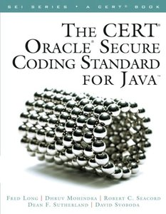The CERT Oracle Secure Coding Standard for Java (Paperback)-cover