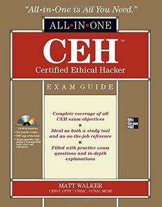 CEH Certified Ethical Hacker All-in-One Exam Guide (Hardcover)-cover