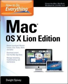 How to Do Everything Mac OS X Lion Edition (Paperback)-cover