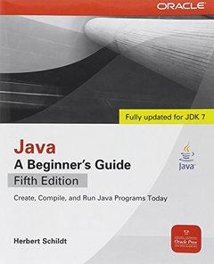 Java: A Beginner's Guide, 5/e (Paperback)-cover