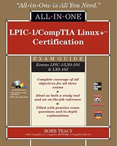LPIC-1/CompTIA Linux+ Certification All-in-One Exam Guide (Exams LPIC-1/LX0-101 & LX0-102) (Hardcover)-cover