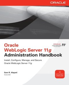 Oracle WebLogic Server 11g Administration Handbook (Paperback)-cover