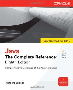 Java: The Complete Reference, 8/e (Paperback)-cover