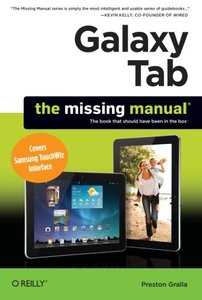 Galaxy Tab: The Missing Manual: Covers Samsung TouchWiz Interface (Paperback)-cover