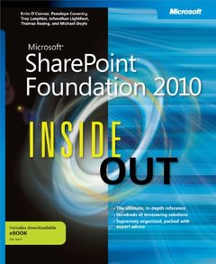 Microsoft SharePoint Foundation 2010 Inside Out (Paperback)-cover