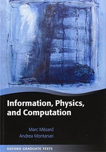 Information, Physics, and Computation (Hardcover)-cover