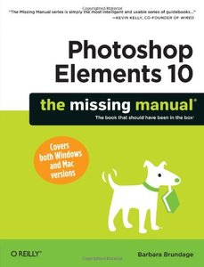 Photoshop Elements 10: The Missing Manual (Paperback)-cover