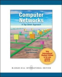 Computer Networks : A Top Down Approach (IE-Paperback)-cover