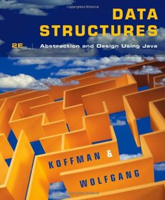 Data Structures: Abstraction and Design Using Java , 2/e (Paperback)-cover