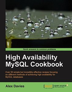 High Availability MySQL Cookbook-cover