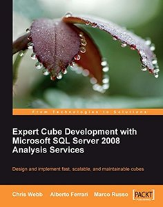 Expert Cube Development with Microsoft SQL Server 2008 Analysis Services (Paperback)-cover