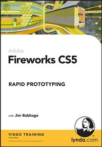 Fireworks CS5: Rapid Prototyping (CD-ROM)-cover