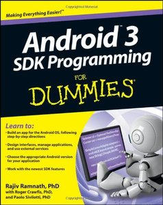 Android 3 SDK Programming For Dummies (Paperback)-cover