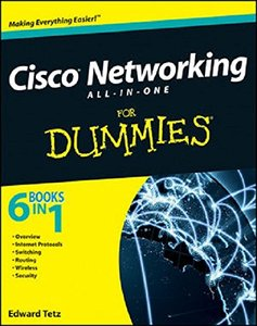 Cisco Networking All-in-One For Dummies (Paperback)-cover