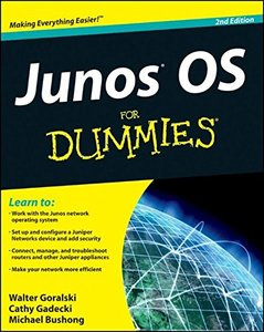 JUNOS OS For Dummies, 2/e (Paperback)-cover