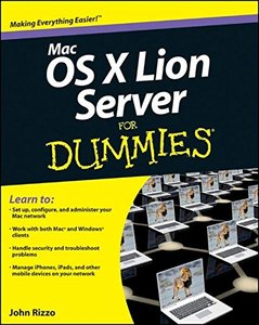 Mac OS X Lion Server For Dummies (Paperback)-cover