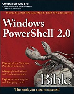 Windows PowerShell 2.0 Bible (Paperback)-cover