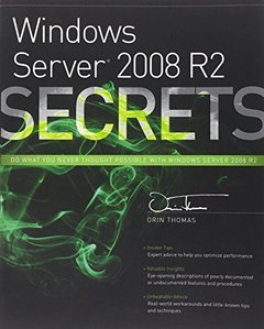 Windows Server 2008 R2 Secrets (Paperback)-cover