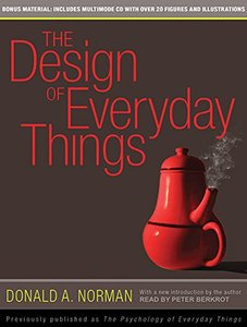 The Design of Everyday Things (Audiobook, MP3 Audio, Unabridged) (Audio CD)-cover