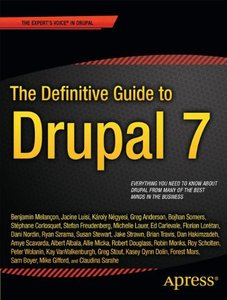 The Definitive Guide to Drupal 7 (Paperback)-cover